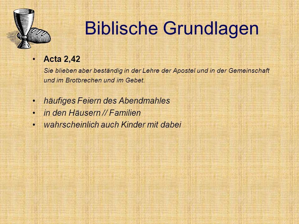 Lucas 14 (parallel Mt 22) Festmahl mit den Leuten von den Zäunen und Hecken die Nichtwürdigen werden zum Abendmahl geladen Biblische Grundlagen