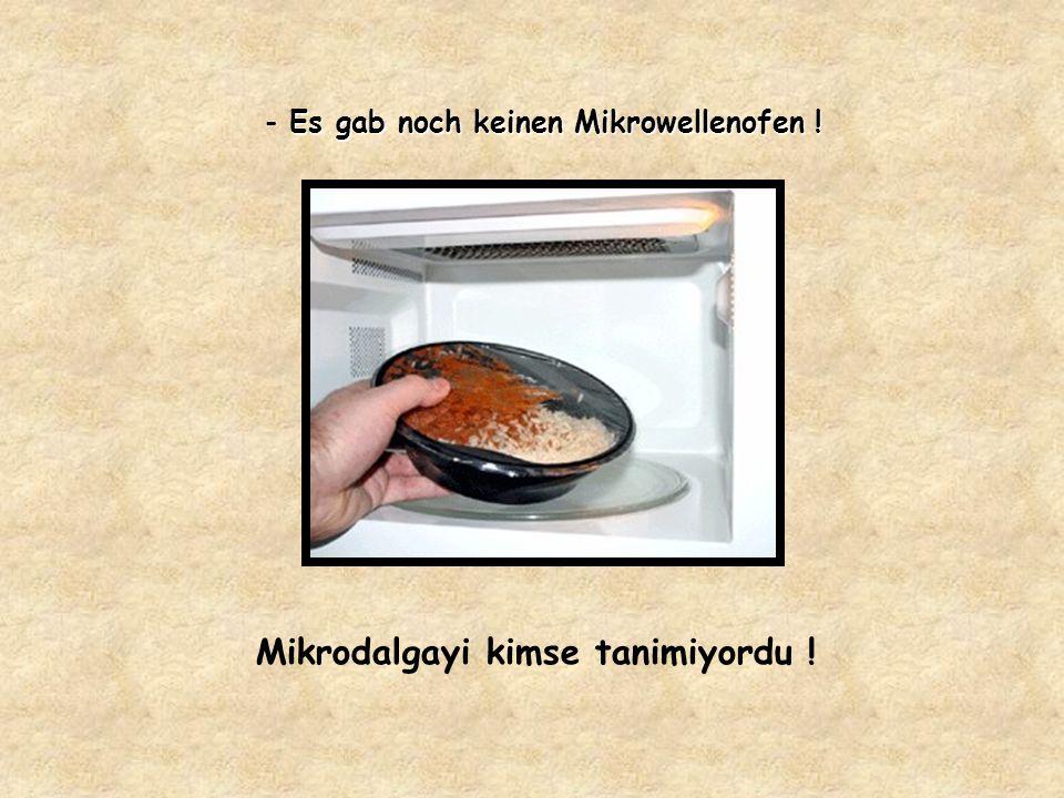 Tiefkühl – Mahlzeiten gab es nicht ! Dondurulmus gida maddeleri de yoktu !