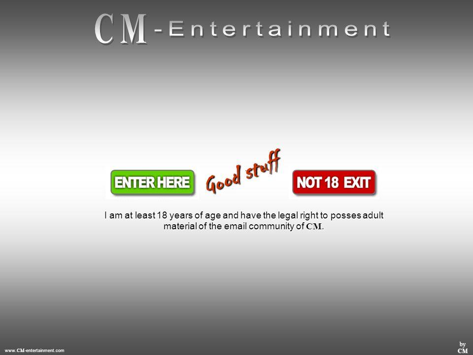 www. CM -entertainment.com by CM Chicca geil über den Hammer ziehen, ein mega horny Gefühl