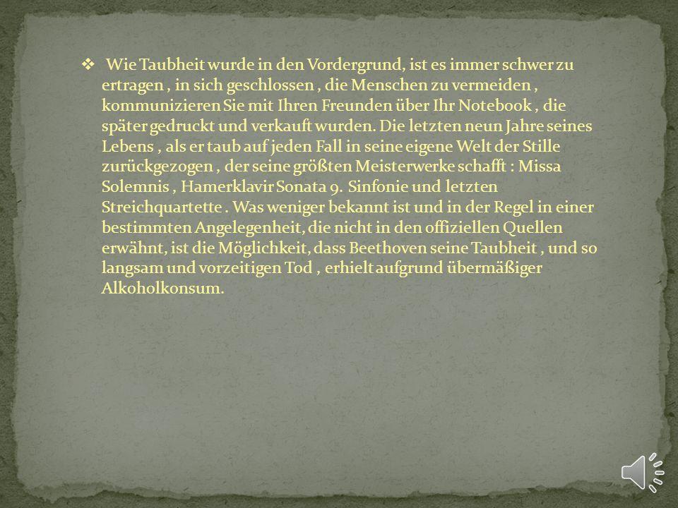 Nach dem Tod seines Vaters 1792. Beethoven nach Wien, wo er geplant, mit Joseph Haydn zu studieren. Da Haydn wenig Zeit zum Reden hatte, gechipt Beeth