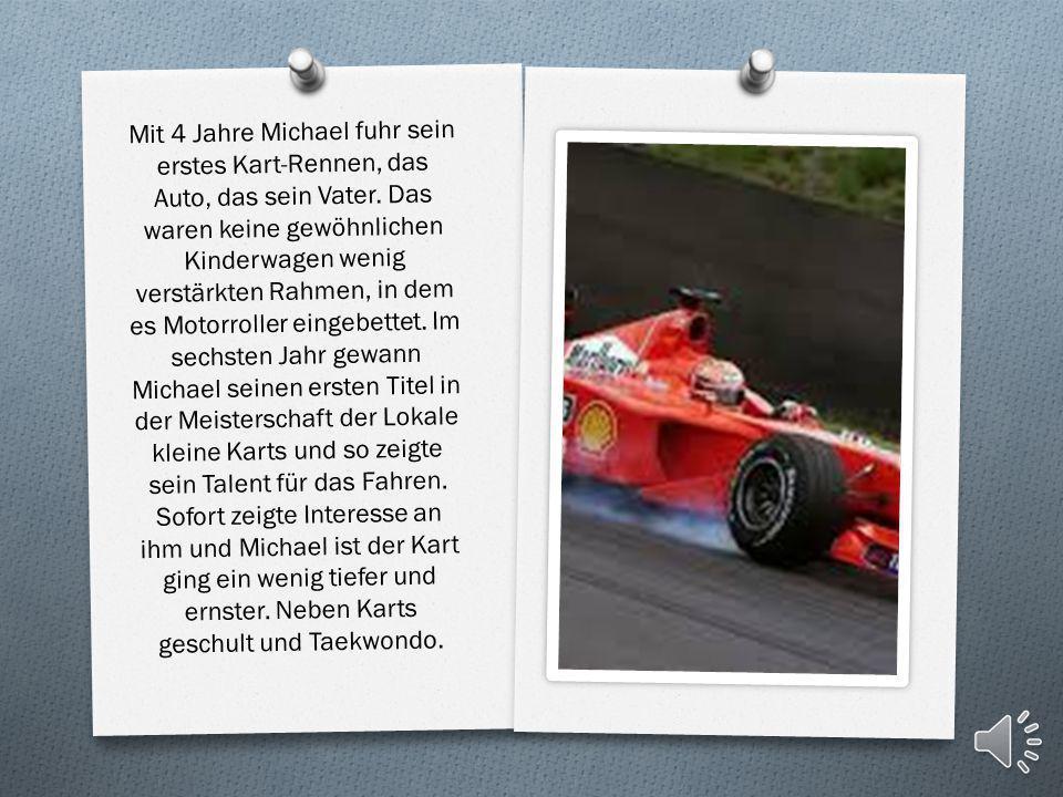 O 1996 wechselte er zu Ferrari, wo er bis 2006 aktiv blieb. Schumacher gewann von 2000 bis 2004 fünfmal in Folge die Weltmeisterschaft. Nach einer meh