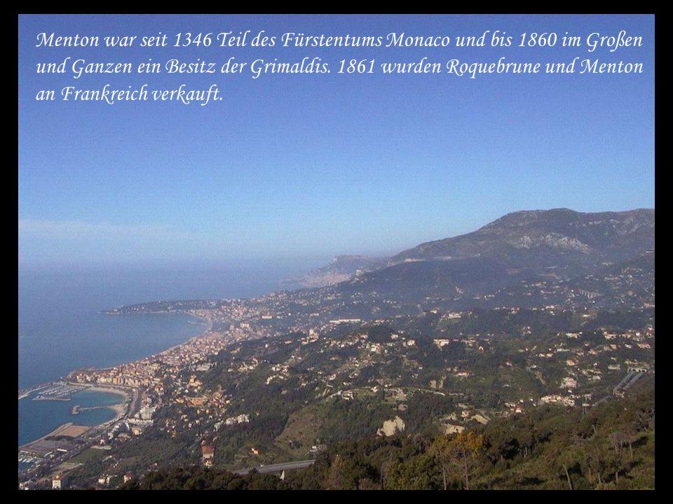 Zitronenfest in Menton an der Côte d´ Azur Komm´ und staune mit mir ……