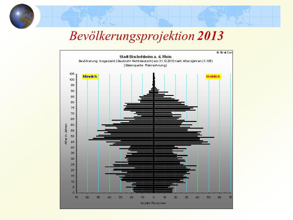 Bevölkerungsprojektion 2013