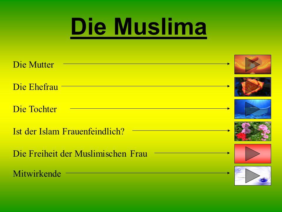 Die Muslima Die Mutter Die Tochter Ist der Islam Frauenfeindlich.