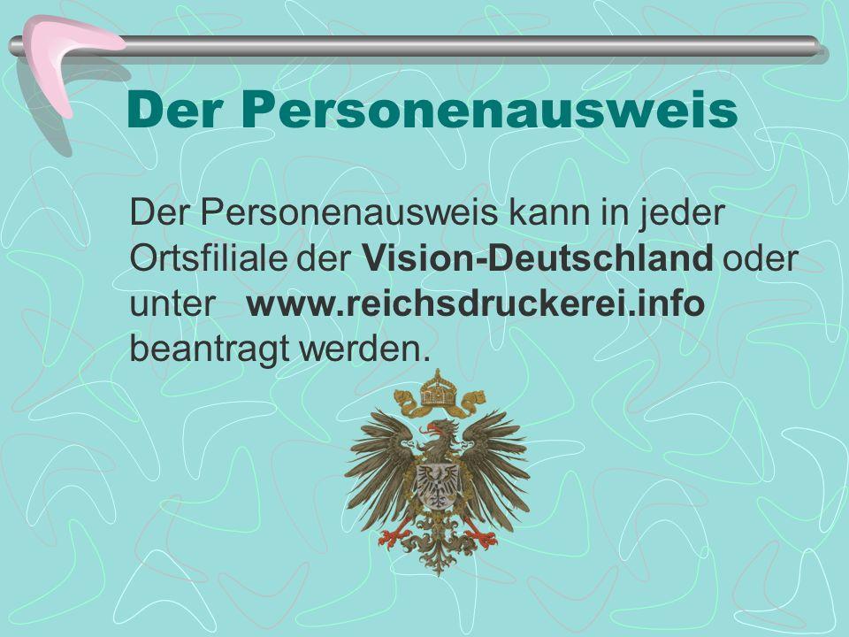 Der Personenausweis