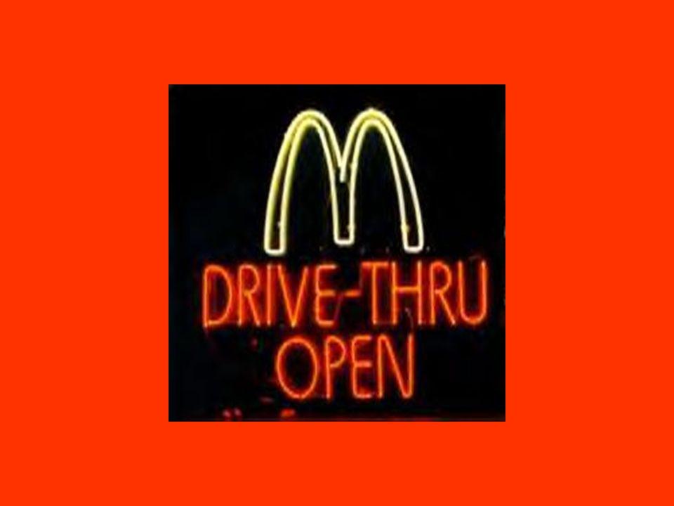 Speziell in meinem Lieblings Fast-Food Restaurant.
