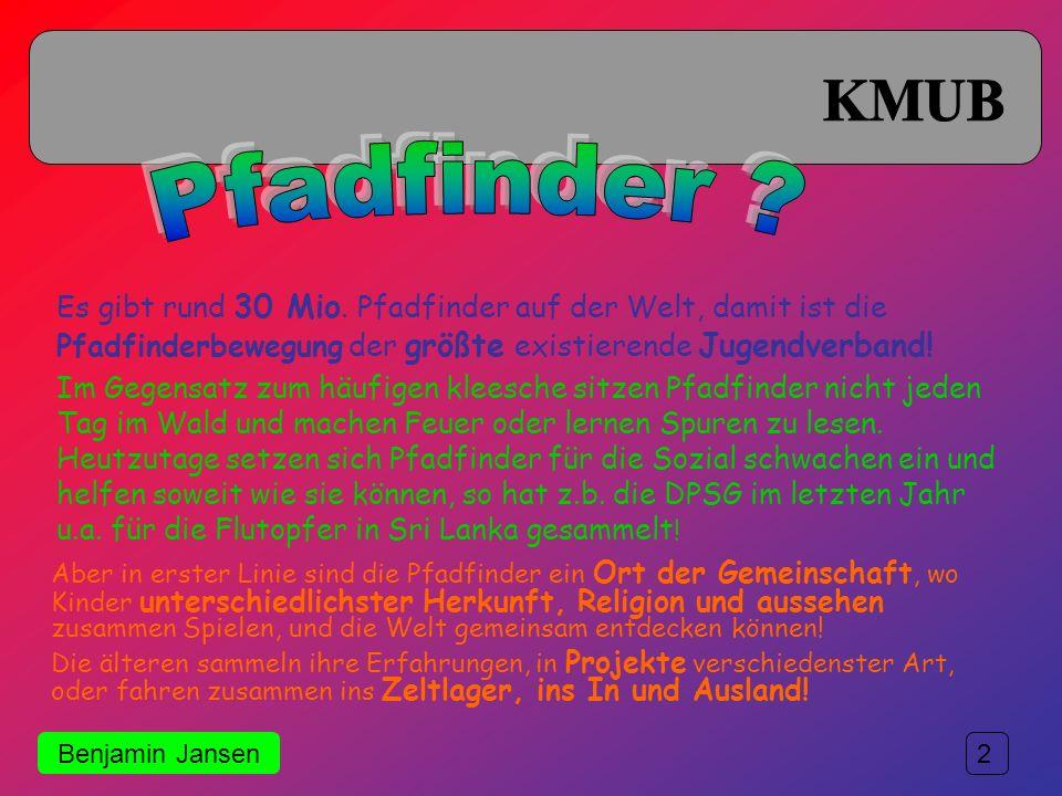 ADV 1 Eine kleine Einführung in die Welt der Katholischen Pfadfinder in Deutschland