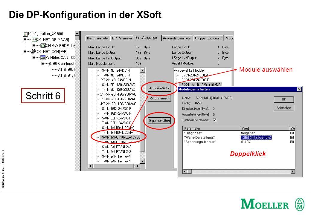 Schutzvermerk nach DIN 34 beachten Aufgabe: XC600 und XION