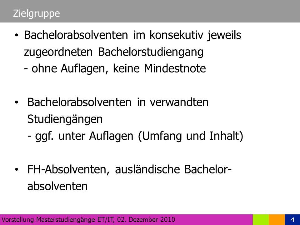 4 Zielgruppe Vorstellung Masterstudiengänge ET/IT, 02.