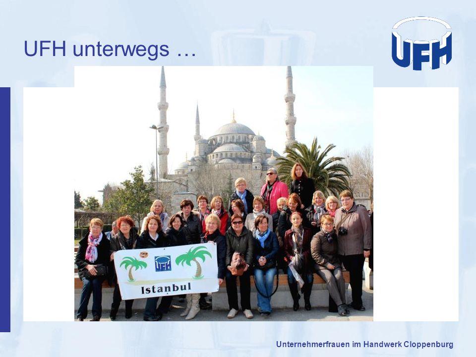UFH unterwegs … Unternehmerfrauen im Handwerk Cloppenburg