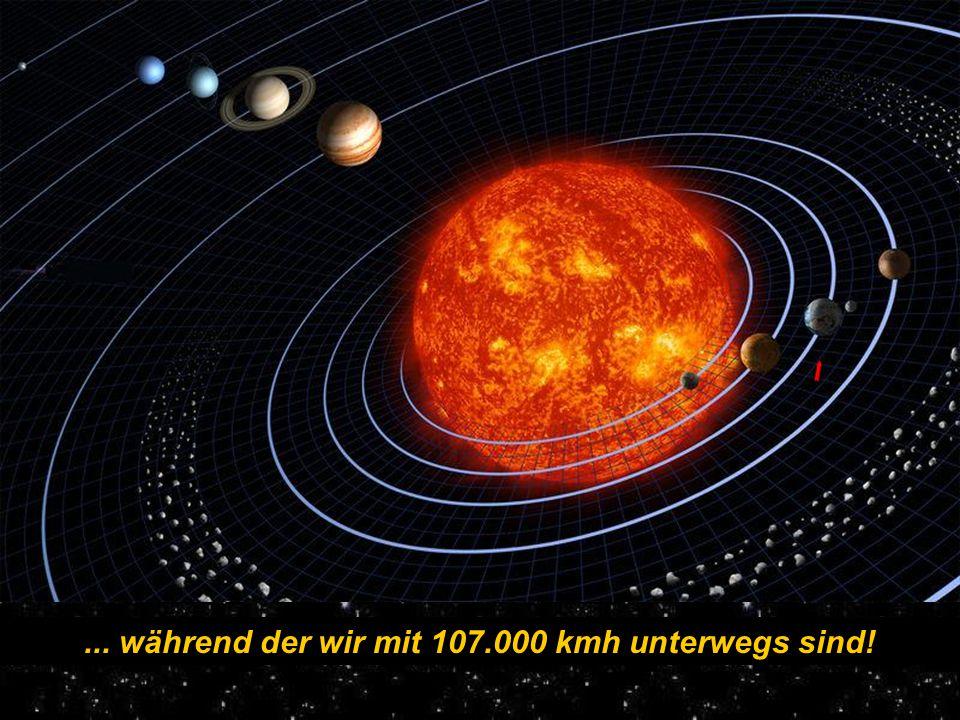 Ohne Translationsbewegung ( Rotation um die Sonne in 365,26 Tagen) Erde