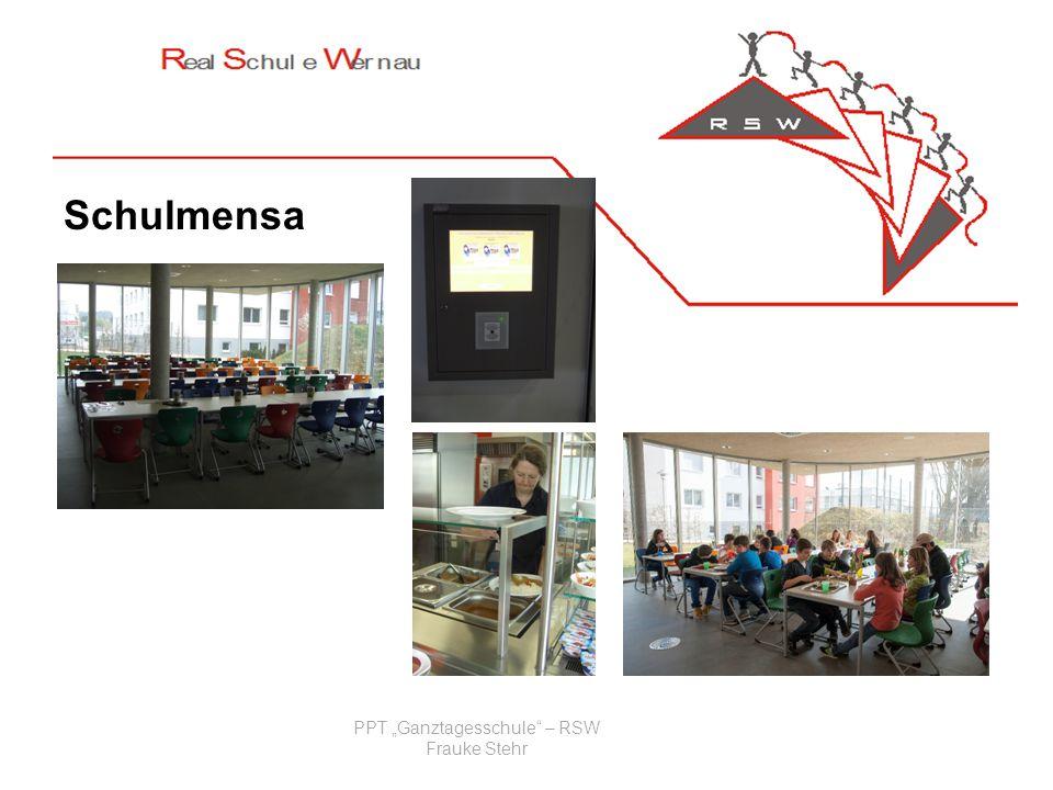 Schulmensa PPT Ganztagesschule – RSW Frauke Stehr