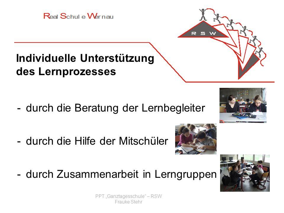 PPT Ganztagesschule – RSW Frauke Stehr