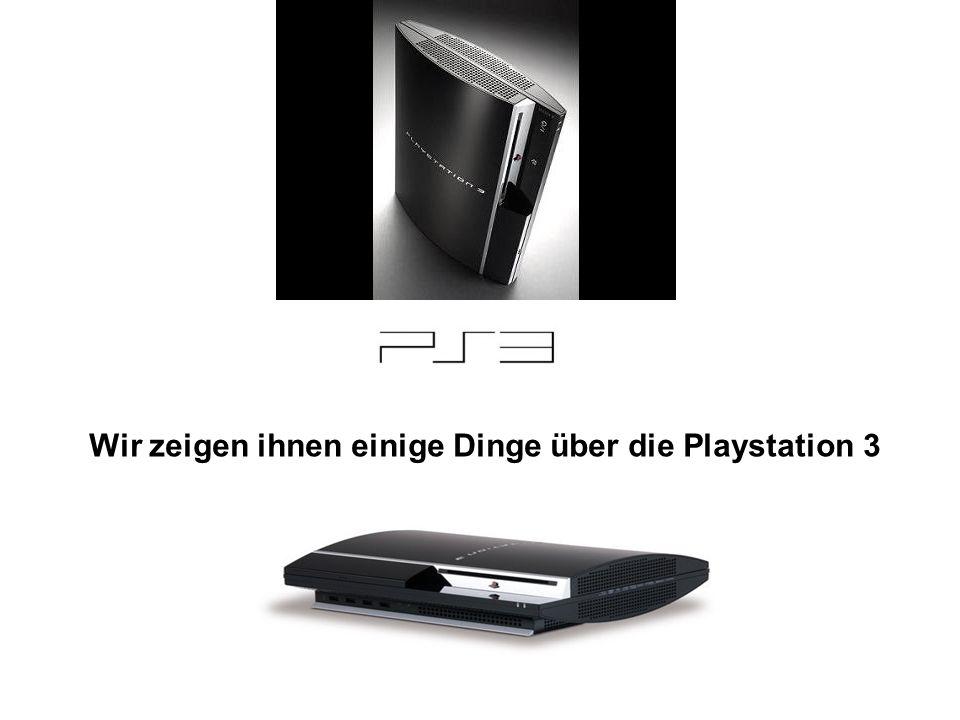 Wir zeigen ihnen einige Dinge über die Playstation 3