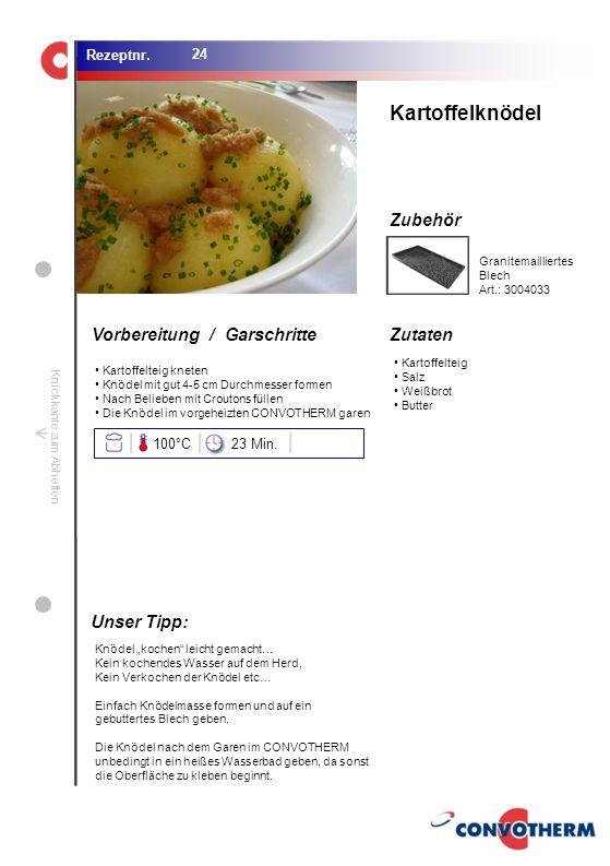 Foto (5,16 cm x 6,8 cm) ZutatenVorbereitung / Garschritte Zubehör Foto (1,44 cm x 1,98 cm) Rezeptnr. Knickkante zum Abheften Kartoffelteig Salz Weißbr