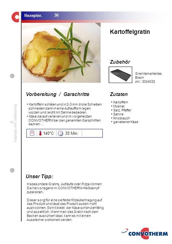 Foto (5,16 cm x 6,8 cm) ZutatenVorbereitung / Garschritte Zubehör Foto (1,44 cm x 1,98 cm) Rezeptnr. Knickkante zum Abheften Kartoffeln Muskat Salz, P