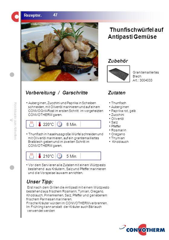 Foto (5,16 cm x 6,8 cm) ZutatenVorbereitung / Garschritte Zubehör Foto (1,44 cm x 1,98 cm) Rezeptnr. Knickkante zum Abheften Auberginen, Zucchini und