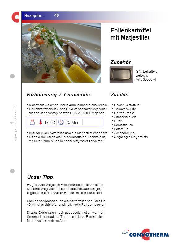 Foto (5,16 cm x 6,8 cm) ZutatenVorbereitung / Garschritte Zubehör Foto (1,44 cm x 1,98 cm) Rezeptnr. Knickkante zum Abheften Kartoffeln waschen und in