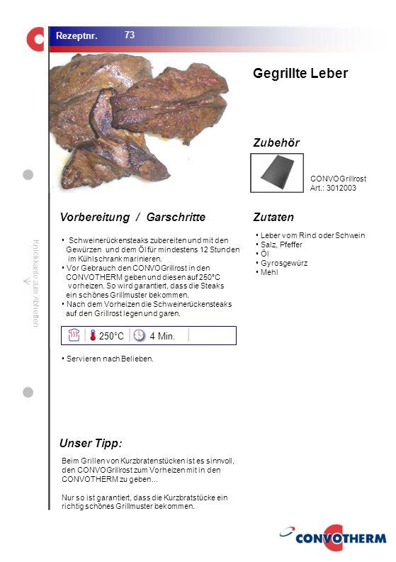 Foto (5,16 cm x 6,8 cm) ZutatenVorbereitung / Garschritte Zubehör Foto (1,44 cm x 1,98 cm) Rezeptnr. Knickkante zum Abheften Leber vom Rind oder Schwe