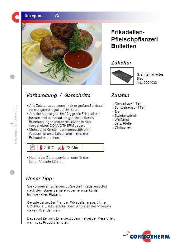 Foto (5,16 cm x 6,8 cm) ZutatenVorbereitung / Garschritte Zubehör Foto (1,44 cm x 1,98 cm) Rezeptnr. Knickkante zum Abheften Rinderhack 1 Teil Schwein