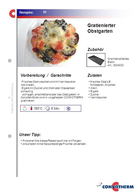 Foto (5,16 cm x 6,8 cm) ZutatenVorbereitung / Garschritte Zubehör Foto (1,44 cm x 1,98 cm) Rezeptnr. Knickkante zum Abheften frisches Obst z.B Himbeer