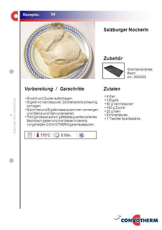 Foto (5,16 cm x 6,8 cm) ZutatenVorbereitung / Garschritte Zubehör Foto (1,44 cm x 1,98 cm) Rezeptnr. Knickkante zum Abheften 6 Eier 3 Eigelb 50 g Vani