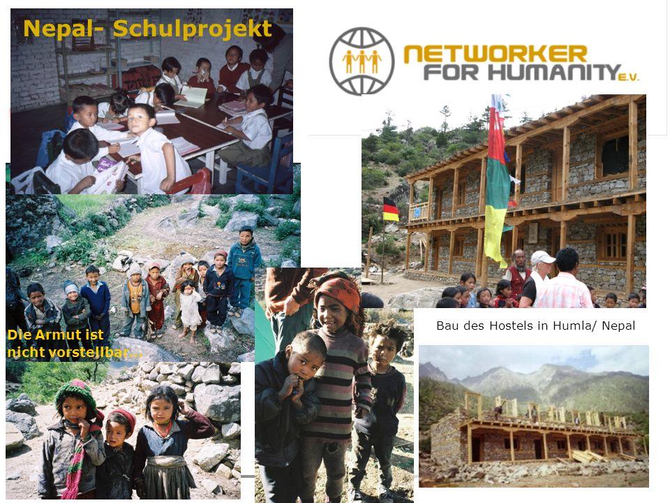 Nepalesische Kinder … Bau des Hostels in Humla/ Nepal Die Armut ist nicht vorstellbar… Nepal- Schulprojekt