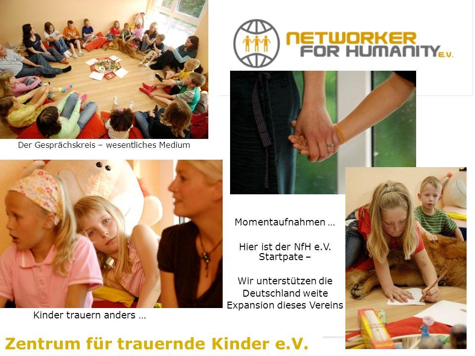 Der Gesprächskreis – wesentliches Medium Zentrum für trauernde Kinder e.V.