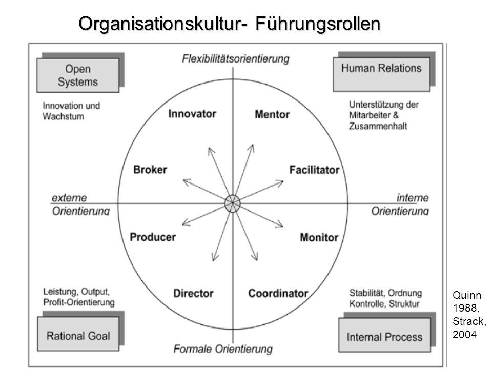 Organisationskultur- Führungsrollen