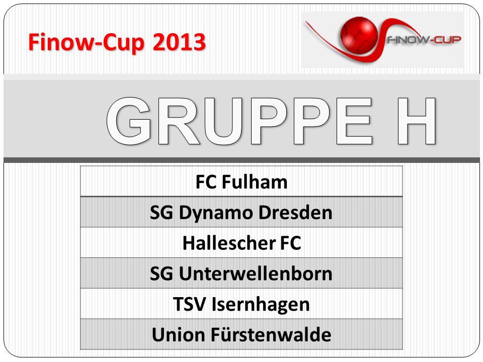 Finow-Cup 2013 FC Fulham SG Dynamo Dresden Hallescher FC SG Unterwellenborn TSV Isernhagen Union Fürstenwalde