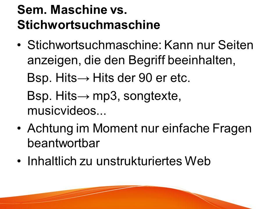 Sem.Maschine vs.
