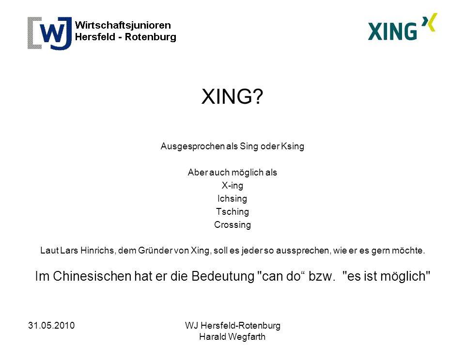 31.05.2010WJ Hersfeld-Rotenburg Harald Wegfarth XING.