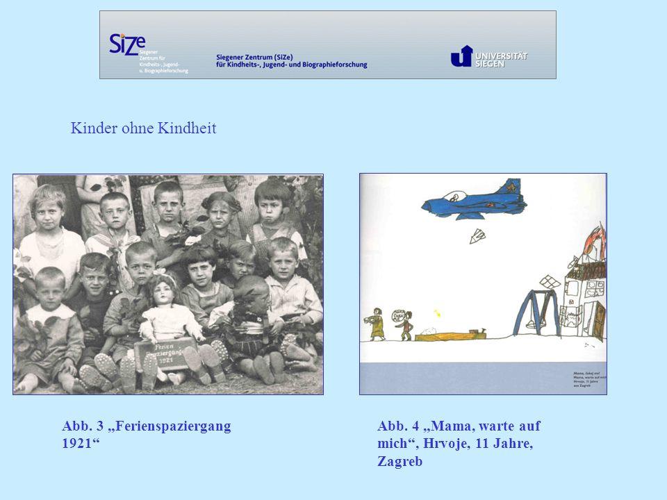 Kinder ohne Kindheit Abb.3 Ferienspaziergang 1921 Abb.