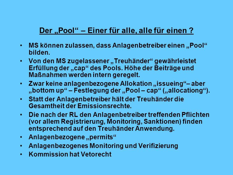 Der Pool – Einer für alle, alle für einen .