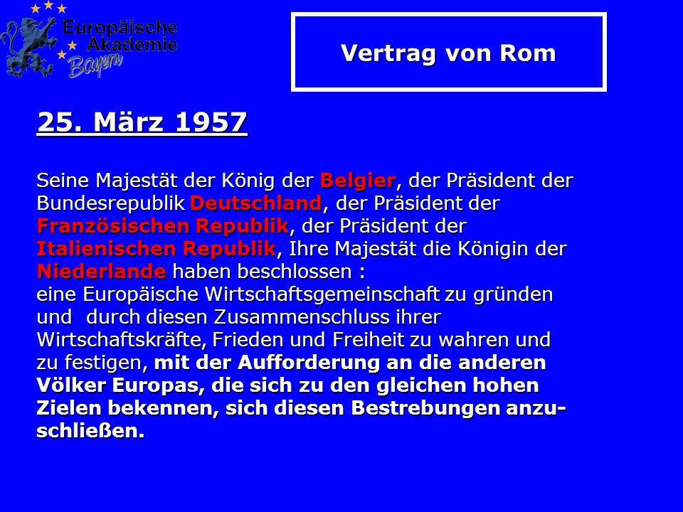 Vertrag von Rom 25.