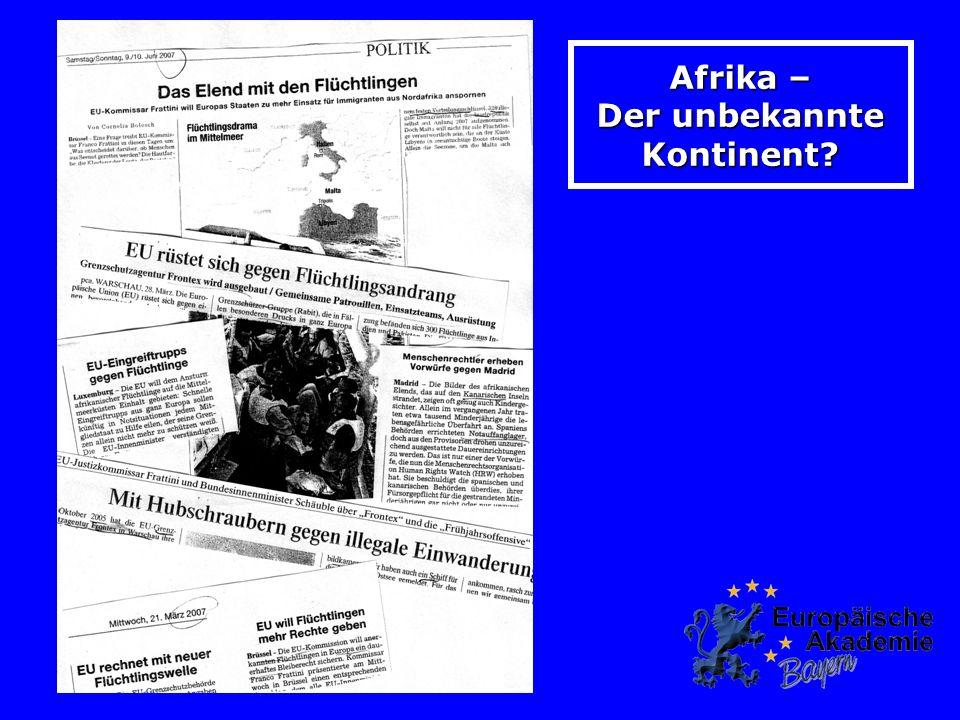 Afrika – Der unbekannte Kontinent