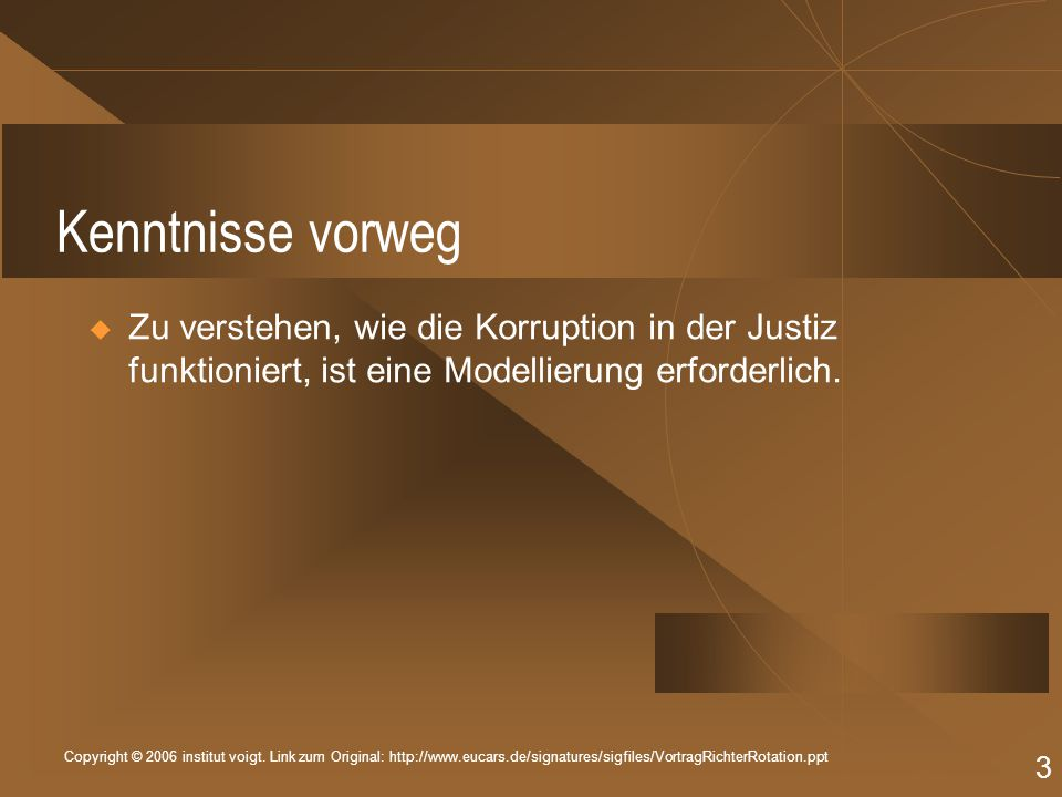 Copyright © 2006 institut voigt.