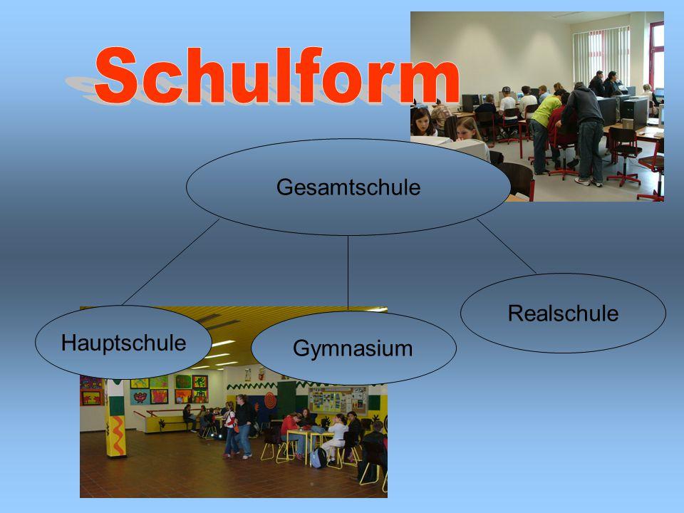 Gesamtschule Hauptschule Realschule Gymnasium