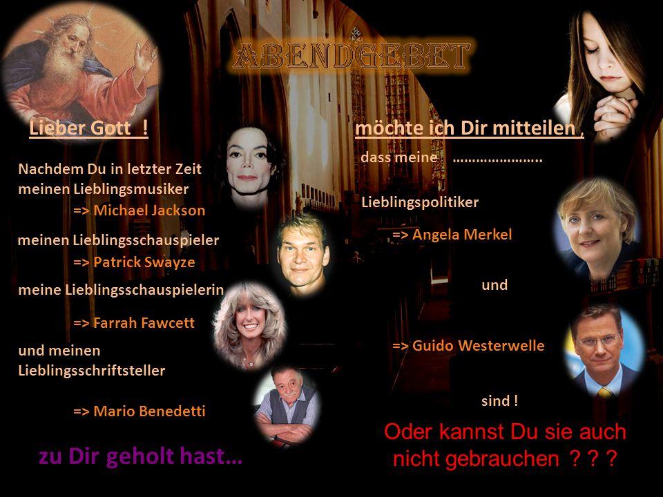 verteilt durch www.funmail2u.dewww.funmail2u.de Lieber Gott .