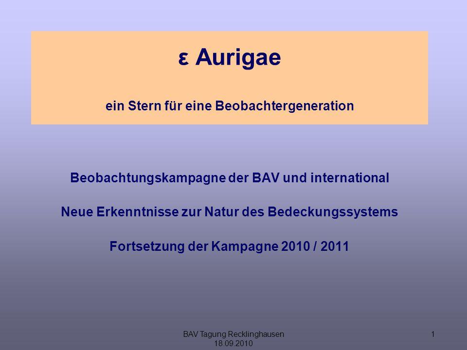 BAV Tagung Recklinghausen 18.09.2010 12 Aufnahmen CHARA-Array http://www.ns.umich.edu/podcast/video.php?id=1211