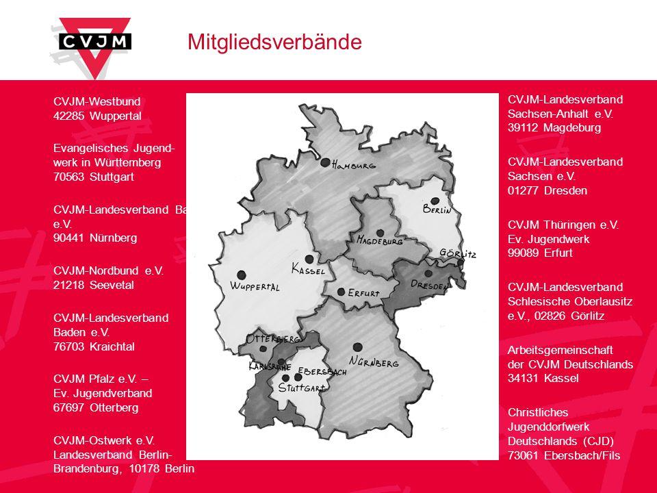 Mitgliedsverbände CVJM-Landesverband Sachsen-Anhalt e.V.
