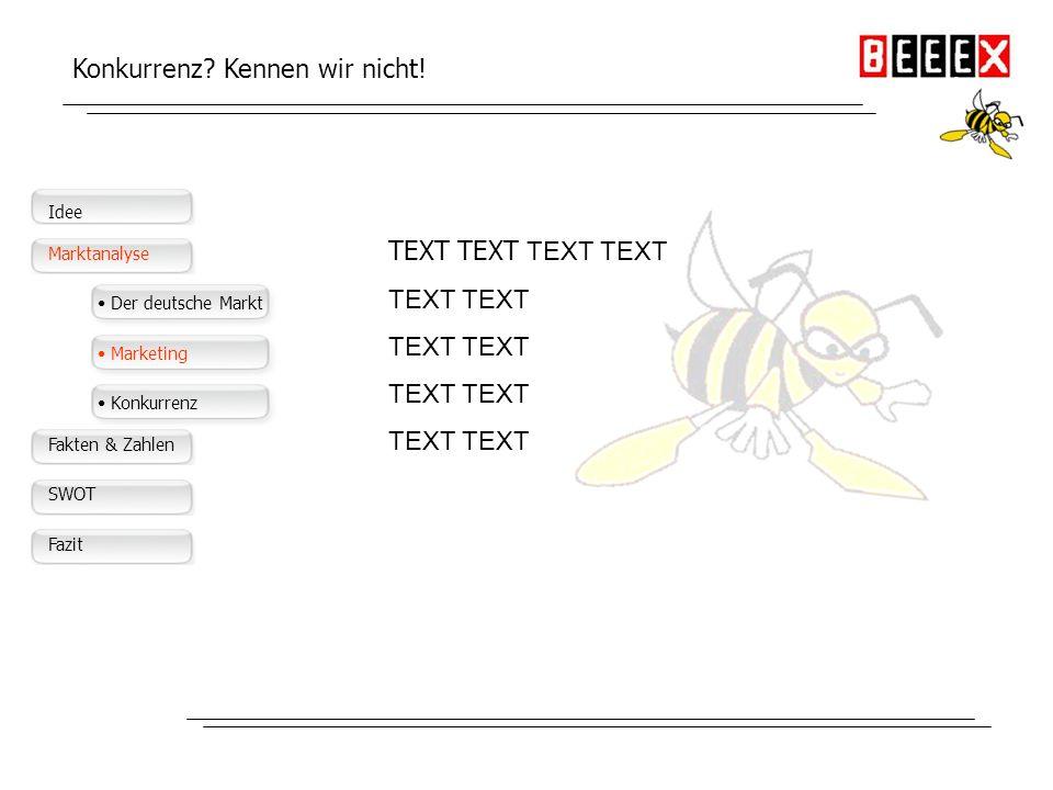 Der deutsche Markt Große Nachfrage auf dem Markt Text Text Text Text Text Text Text Text Text Text Text Idee Produkt Märkte Konkurrenz Management Mark
