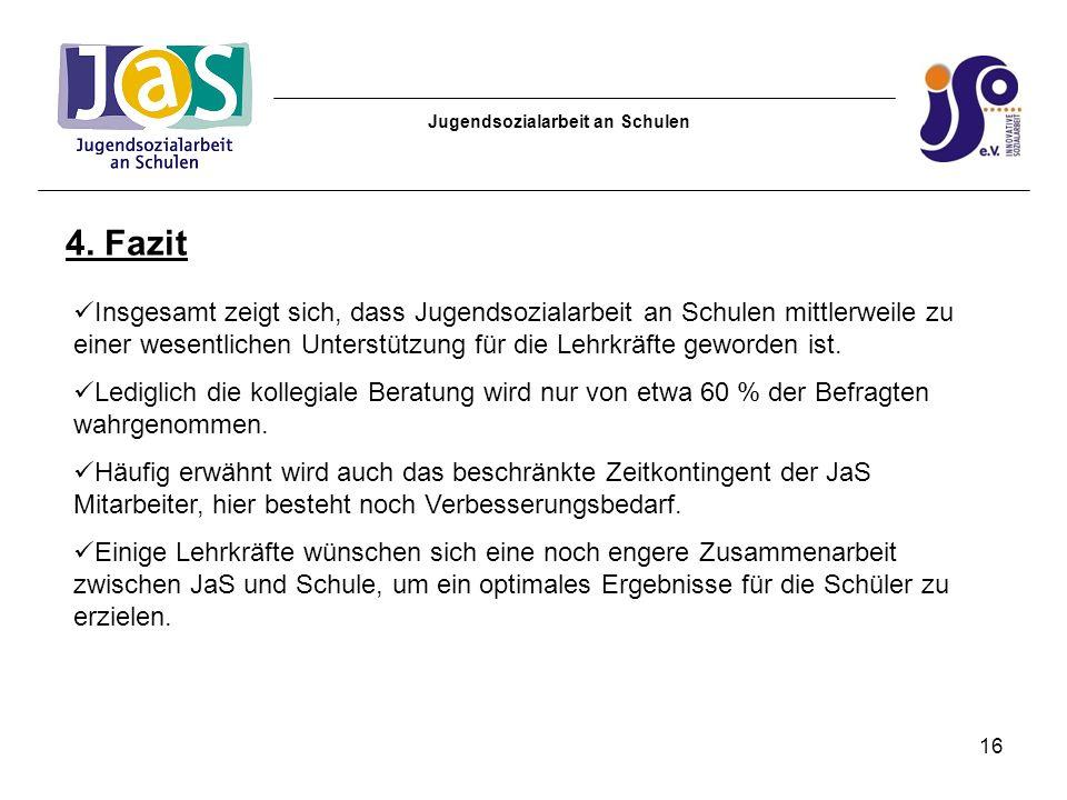 Jugendsozialarbeit an Schulen 4.