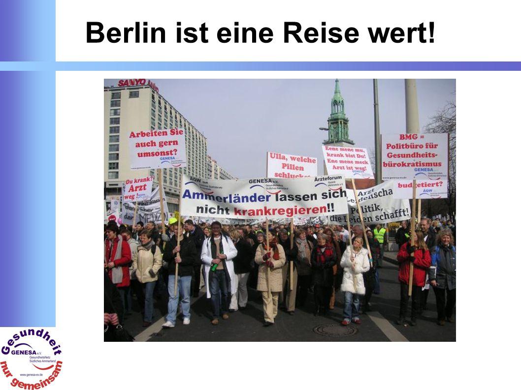 Berlin ist eine Reise wert!