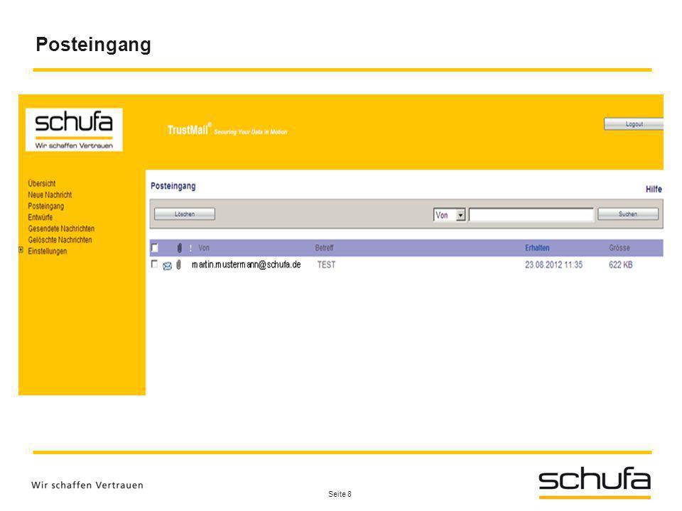Alexander Bach SCHUFA Holding AG Kormoranweg 5 65201 Wiesbaden Tel.: 0611 - 9278-589 E-Mail: alexander.bach@schufa.de www.schufa.de Bei Rückfragen stehe ich Ihnen gerne zur Verfügung.