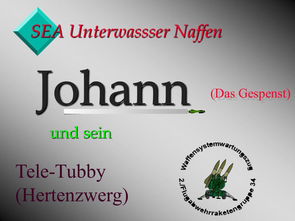 SEA Unterwassser Naffen Johann Johann (Das Gespenst) und sein Tele-Tubby (Hertenzwerg)