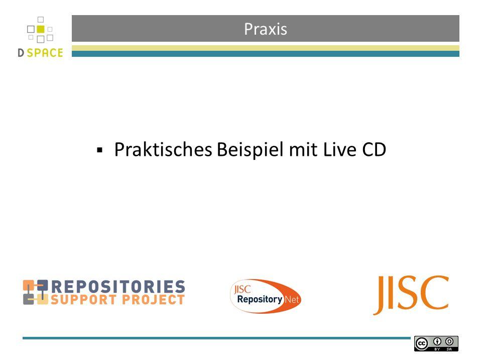 Praxis Praktisches Beispiel mit Live CD