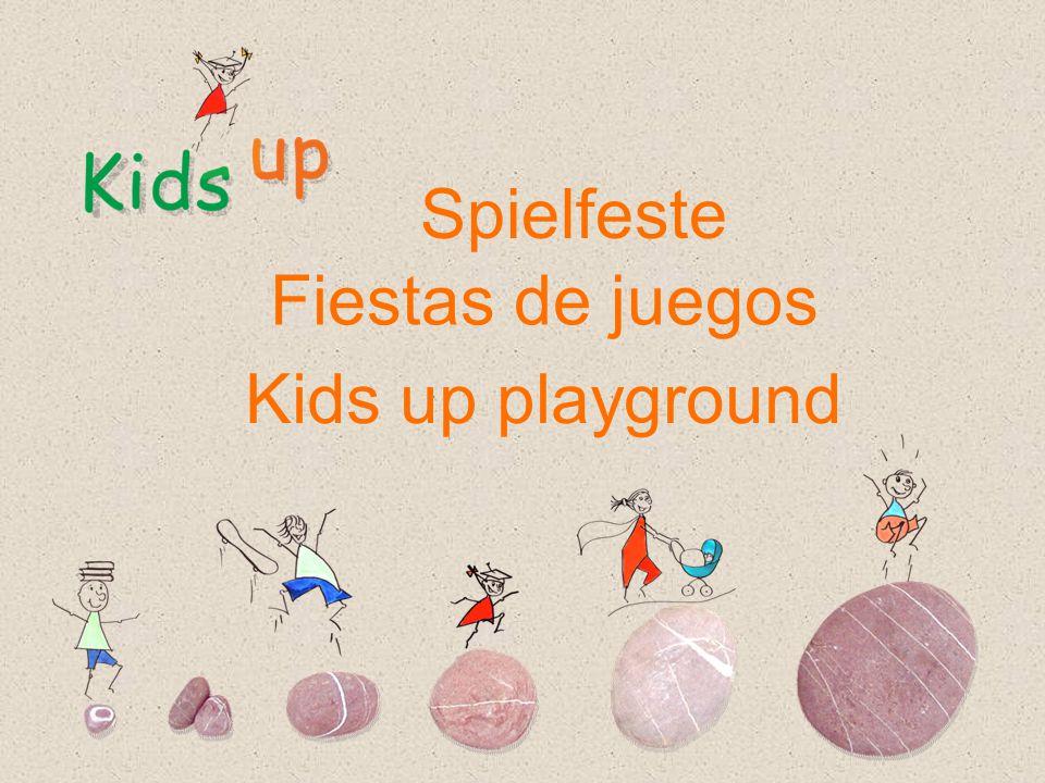 Kids up playground Fiestas de juegos Spielfeste