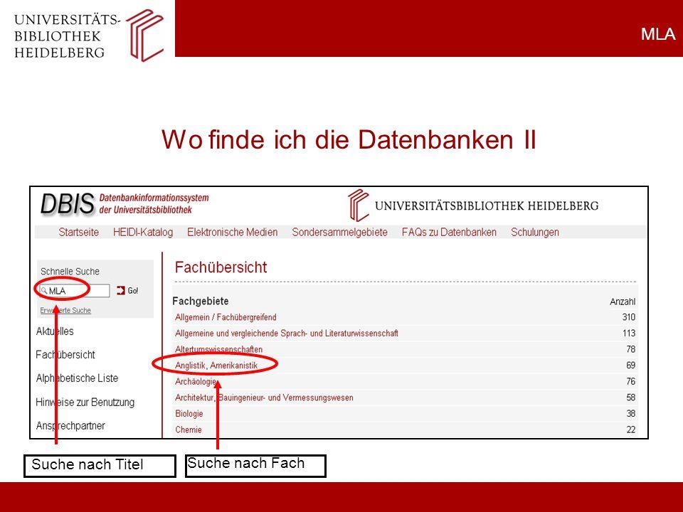 Heidi: Zeitschrift Fernleihe HEIDI/Fernleihe 1.Recherche in ZDB 2.