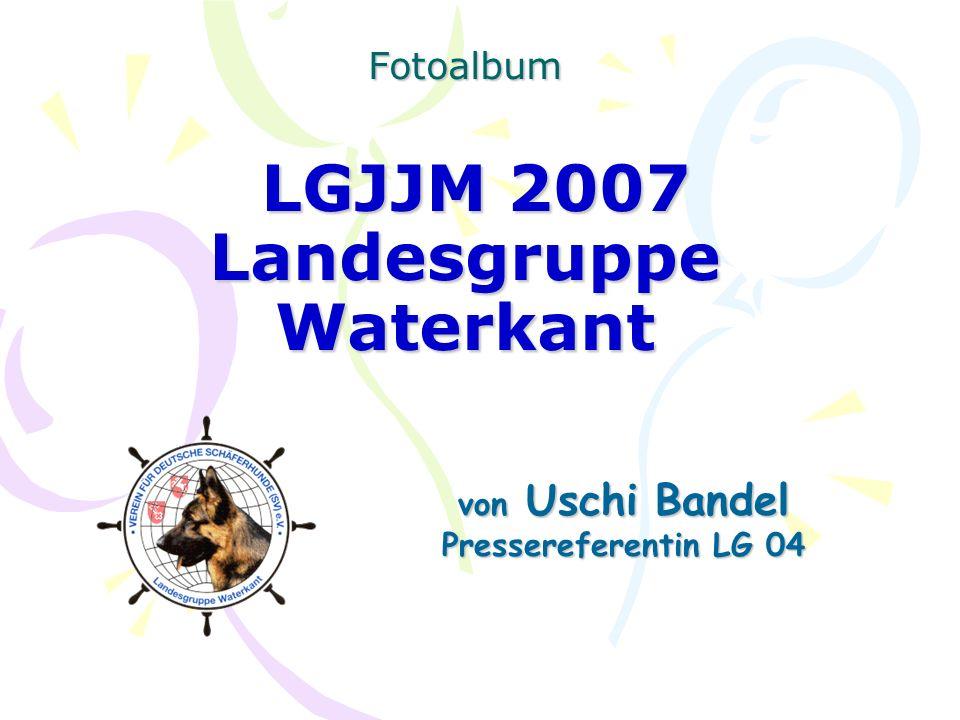 Fotoalbum LGJJM 2007 Landesgruppe Waterkant von Uschi Bandel Pressereferentin LG 04